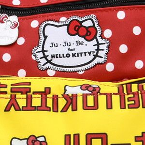 Сумочка для пустышек Ju-Ju-Be Paci Pod hello kitty strawberry stripes