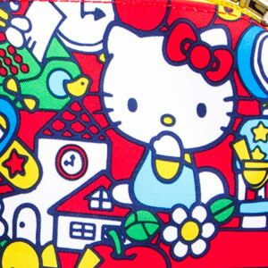 Коврик Ju-Ju-Be Changing Pad hello kitty tick tock