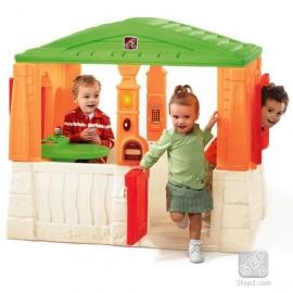 Детский домик Уютный коттедж цветной