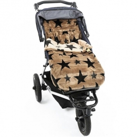Конверт Buggysnuggle Stars French Beige Fur /искусственный мех