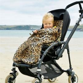 Флисовый конверт Buggysnuggle Toggles Leopard