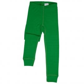 Леггинсы из шерсти мериноса зеленые (размер 1-2 года)