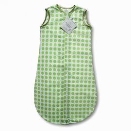 Спальный мешок для детей TOG 0.7 SwaddleDesigns zzZipMe Sack 6-12 M - Organic Flannel KW Dots & Stars