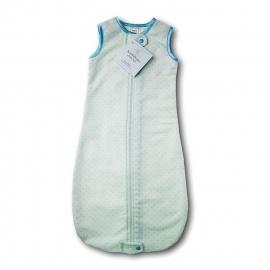 Спальный мешок для новорожденного SwaddleDesigns zzZipMe Sack 6-12M Flannel Lt PB w/PB Dots