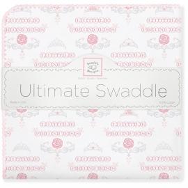 Фланелевая пеленка для новорожденного SwaddleDesigns PP Little Princess